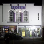Night view of the Regent