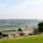View across the Valley with the Farmhouse in the Foreground