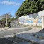 源平合戦の壁画