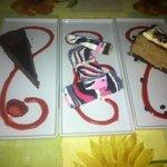 Nous avons été gourmant! gâteau au chocolat, gâteau marbré, gâteau au fromage moka, délicieux!