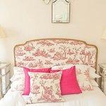 Toile De Jouy Feature Beds
