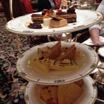 Scones, sandwiched, sweets