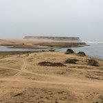 Estuary and beach views