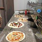 Pizza Verace, Pizza Cetarella, Pizza Romana, Pizza Margherita