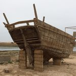 Old ship structure