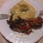 Stinchetto con polenta di Storo_Rist. Due Mori Trento