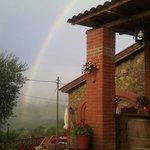 l'arcobaleno su di noi