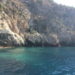 The ionian sea.