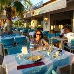 Dinner at the Meydan Restaurant, Fethiye