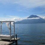 Direkt am Lago Atitlán liegen und wegträumen