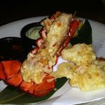 This Maine lobster tempura was the best tasting lobster ever!  Amazing!
