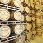 Inside distillery