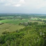 View from the escarpment