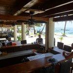 Beach Dining Area