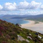 The beach from Ceapabhail