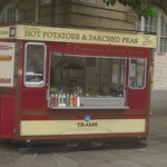 Snack Bar as an old local Tram