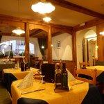 un angolo della sala da pranzo