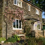 Stockghyll Cottage in the spring