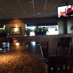 Bar area of Red Lobster.