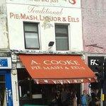 A Cookes legendary Pie & Mash shop!!!