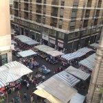 Вид на рынок сверху