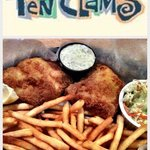 Ten Clams fish & chips