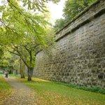 NW Seite der Festungsmauer