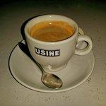 Coffee at Usine