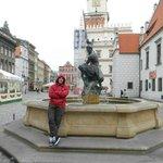 en el Stary Rynek de Poznan