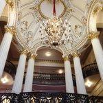 One of the atrium ceilings