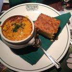 Prime Rib Chili & warm cornbread