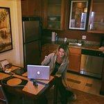 Suite kitchen area
