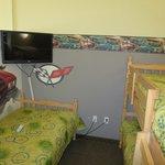 Kid's 'room' in suite