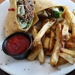 Asian Steak Wrap