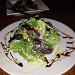 """this was the """"simple salad"""" with so much yum to it"""