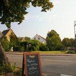 Der Linther-Hof: Blick nach Linthen