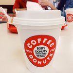 Bob's apple fritters & coffee to start off the morning