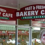 Fast & Fresh Bakery sign