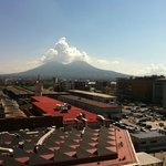 view to il Vesuvio from the room 627