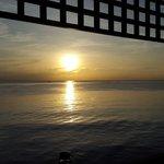 Sonnenaufgang im September (6.20 Uhr)