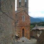 vista iglesia del pueblo