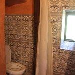 la douche/wc dans son jus