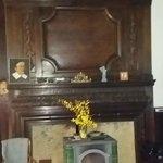 cheminée du salon