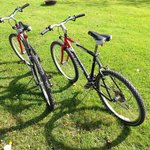 Mountain bikes for rent