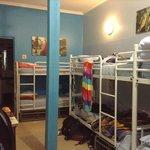8 bed female dorm