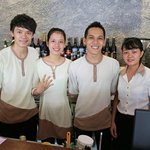 The Chu's friendly staff made our stay a pleasure.