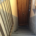 stairs leading to room