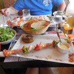 Brochette poisson/crevettes