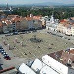 Plaza Premysl Otakar II desde la Torre Negra