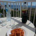 pranzo con vista mare
